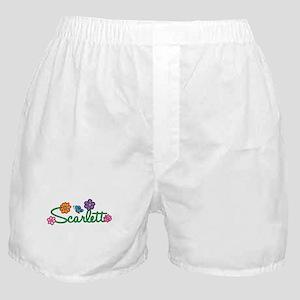Scarlett Flowers Boxer Shorts