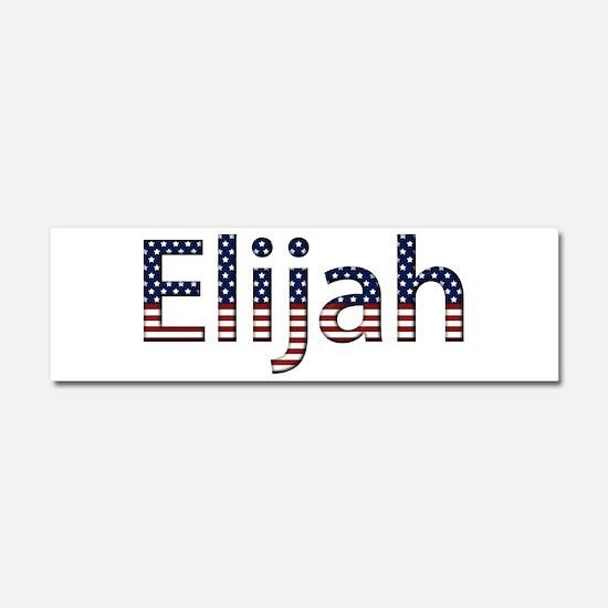 Elijah Stars and Stripes 10x3 Car Magnet