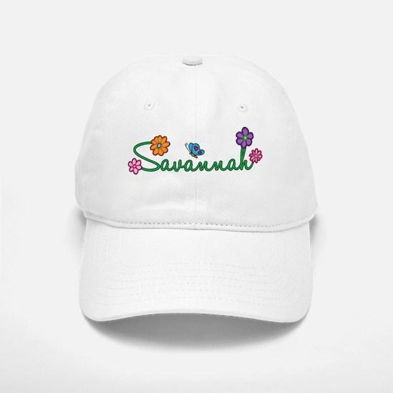 Savannah Flowers Baseball Baseball Cap