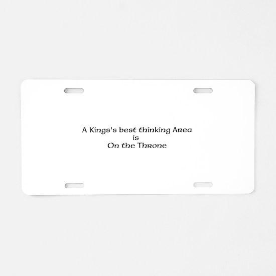 Kings Aluminum License Plate