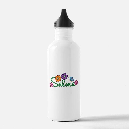 Salma Flowers Water Bottle