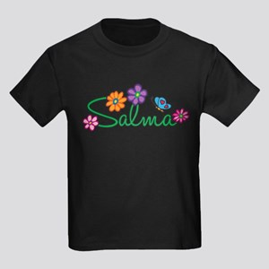 Salma Flowers Kids Dark T-Shirt