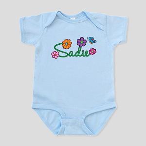 Sadie Flowers Infant Bodysuit