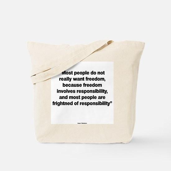 Responsability Tote Bag