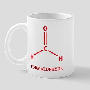 Formaldehyde Molecule Mug