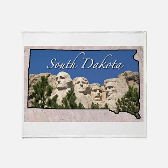 Cute South dakota Throw Blanket