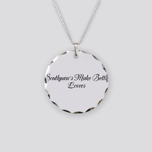 Lovers Necklace Circle Charm