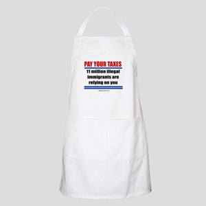 Pay your taxes -  BBQ Apron