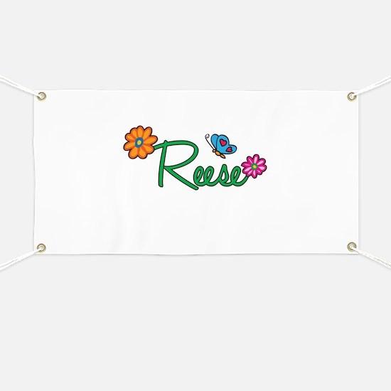 Reese Flowers Banner