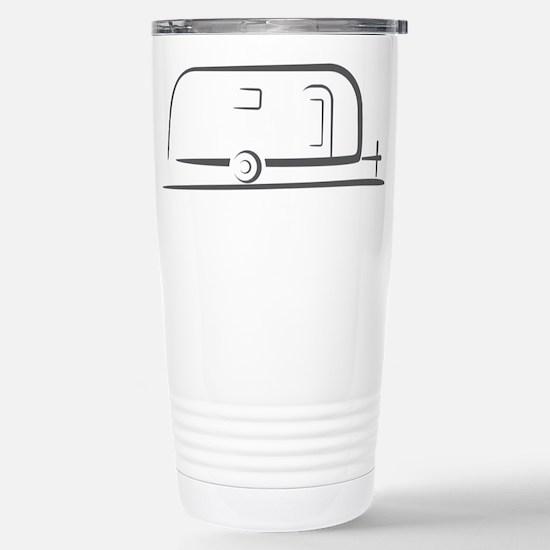 Airstream Silhouette Stainless Steel Travel Mug