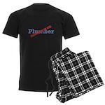 Plumber / Disgruntled Men's Dark Pajamas