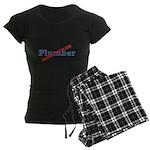 Plumber / Disgruntled Women's Dark Pajamas
