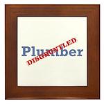 Plumber / Disgruntled Framed Tile
