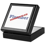 Plumber / Disgruntled Keepsake Box