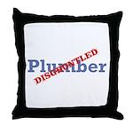 Plumber / Disgruntled Throw Pillow