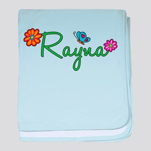 Rayna Flowers baby blanket