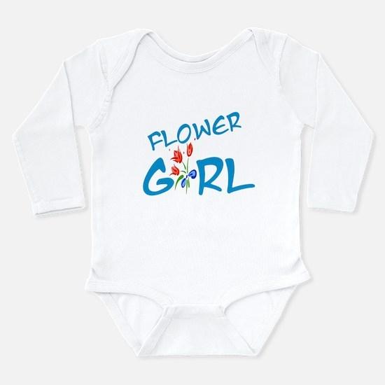 Flower Girl Long Sleeve Infant Bodysuit