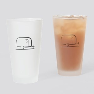 Airstream Silhouette Drinking Glass
