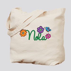 Nola Flowers Tote Bag