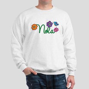 Nola Flowers Sweatshirt