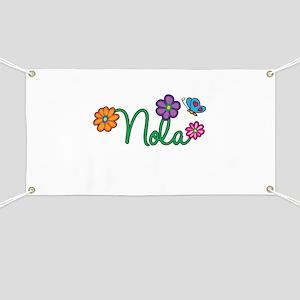Nola Flowers Banner