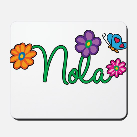 Nola Flowers Mousepad