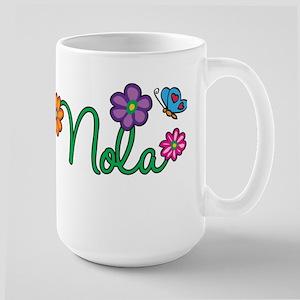 Nola Flowers Large Mug