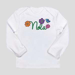 Nola Flowers Long Sleeve Infant T-Shirt
