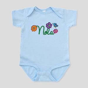 Nola Flowers Infant Bodysuit