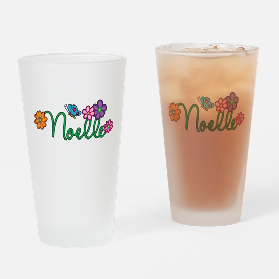 Noelle Flowers Drinking Glass