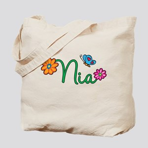 Nia Flowers Tote Bag