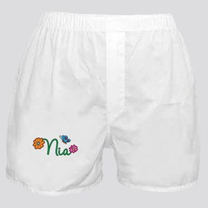 Nia Flowers Boxer Shorts