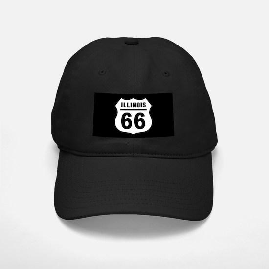 Route 66 Illinois Baseball Hat