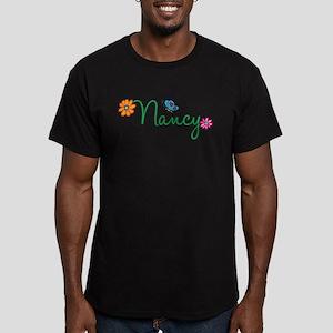 Nancy Flowers Men's Fitted T-Shirt (dark)