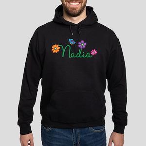 Nadia Flowers Hoodie (dark)