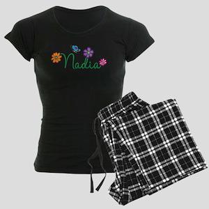 Nadia Flowers Women's Dark Pajamas