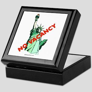 No Vacancy (for immigrants) - Keepsake Box