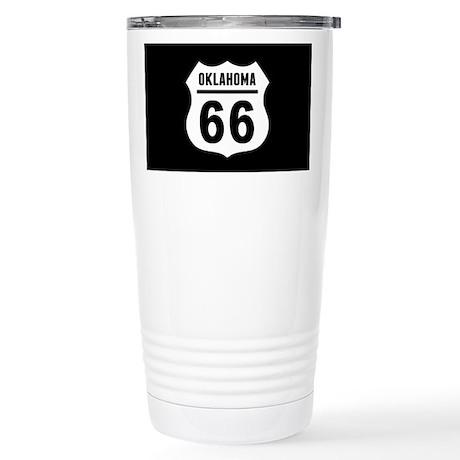 Route 66 Oklahoma Stainless Steel Travel Mug