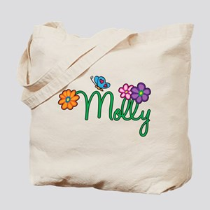 Molly Flowers Tote Bag
