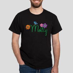 Molly Flowers Dark T-Shirt