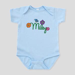 Miley Flowers Infant Bodysuit
