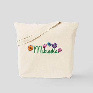 Mikaela Flowers Tote Bag