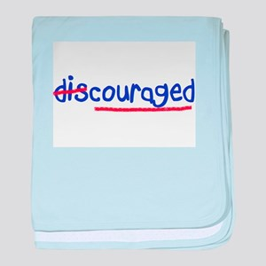 (Dis) Couraged! - baby blanket