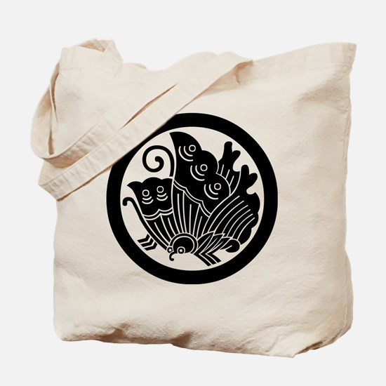 Ageha butterfly in circle Tote Bag