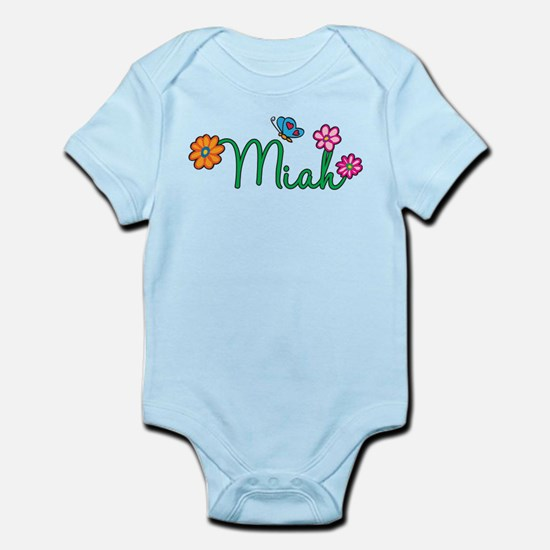 Miah Flowers Infant Bodysuit