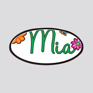 Mia Flowers Patches