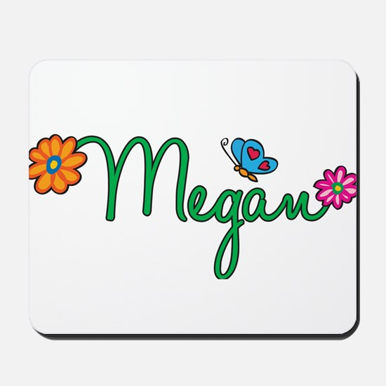 Megan Flowers Mousepad