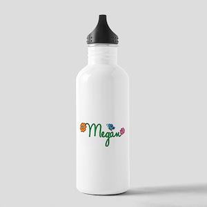 Megan Flowers Stainless Water Bottle 1.0L