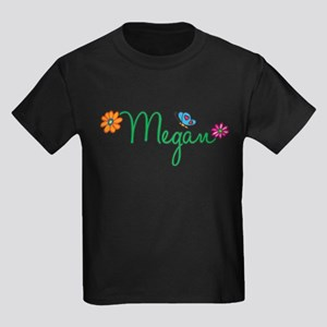Megan Flowers Kids Dark T-Shirt