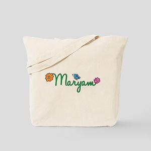 Maryam Flowers Tote Bag